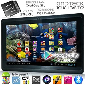 """TouchTab 7""""/9"""" Google Android JellyBean Tablet PC"""