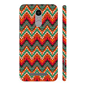 Enthopia Designer Hardshell Case Fire Zag Back Cover for Xiaomi Redmi Note 3