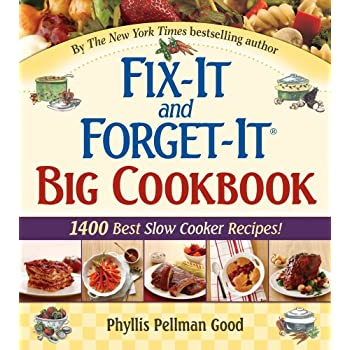 Set A Shopping Price Drop Alert For Fix-It and Forget-It Big Cookbook: 1400 Best Slow Cooker Recipes! Plus