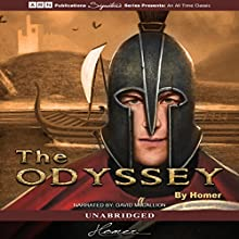 The Odyssey (       UNABRIDGED) by Homer Narrated by David McCallion