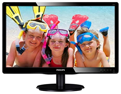 PHILIPS écran LED 21,5'' Full HD DVI-D VGA Multimedia H-Parl