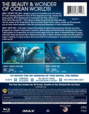 IMAX®: Under the Sea/ IMAX®: Deep Sea DBFE (BD3D) [Blu-ray]