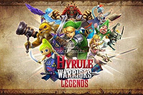 "CGC enorme-Poster Hyrule Warriors Legends The Legend Of Zelda Nintendo Wii U-ext058, Carta, 24"" x 36"" (61cm x 91.5cm)"