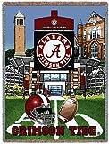 Univ of Alabama Stadium Throw - 70 x 54 Blanket/Throw - Alabama Crimson Tide
