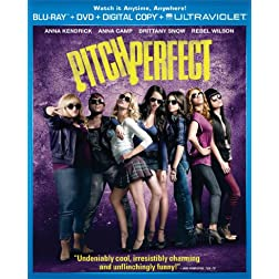 Pitch Perfect (Two-Disc Combo Pack: Blu-ray + DVD + Digital Copy + UltraViolet)