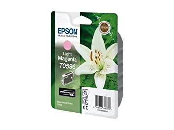 Epson Stylus Photo R 2400 (T0596 / C 13 T 05964010) - original - Ink cartridge bright magenta - 520 Pages - 13ml