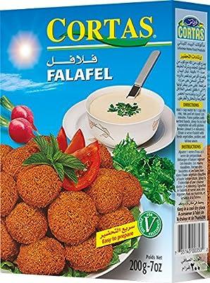 Cortas Fertigmischung für Falafel, 4er Pack (4 x 200 g) von Cortas bei Gewürze Shop