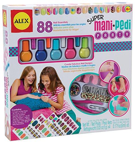 ALEX Spa Super Mani Pedi Party (Kid Nail Polish compare prices)