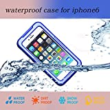 Nancy's Shop Waterproof Shockproof Dustproof Snowproof Protective Case Cover For Iphone 6 (4.7 Inch) (2 - Blue)