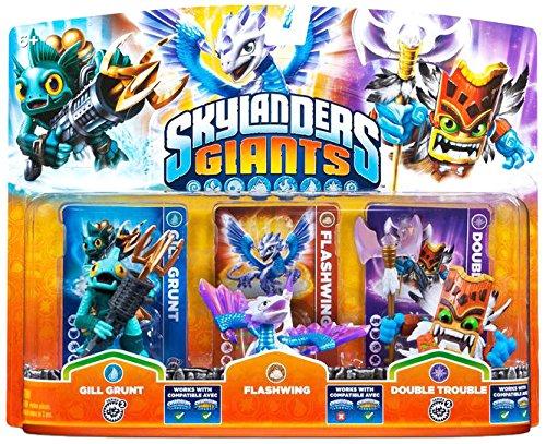 Skylanders: Giants - Triple Pack D: Flashwing, Gill Grunt, Double Trouble