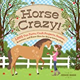 img - for Horse Crazy!: 1,001 Fun Facts, Craft Projects, Games, Activities, and Know-How for Horse-Loving Kids book / textbook / text book