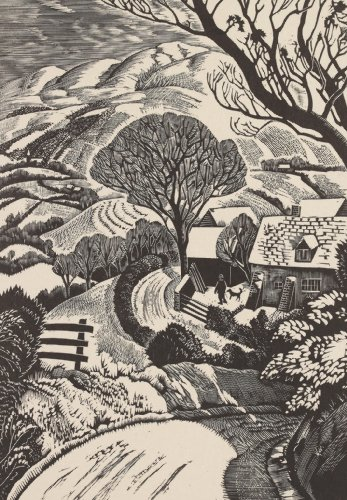 Snow on the Radnor Hills - Iain Macnab