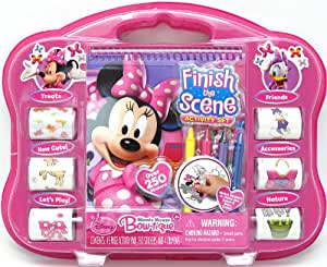 Tara Toys Tara Toy Minnie Finish The Sticker Scene Activity