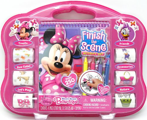 Tara Toy Minnie Finish The Sticker Scene Activity - 1