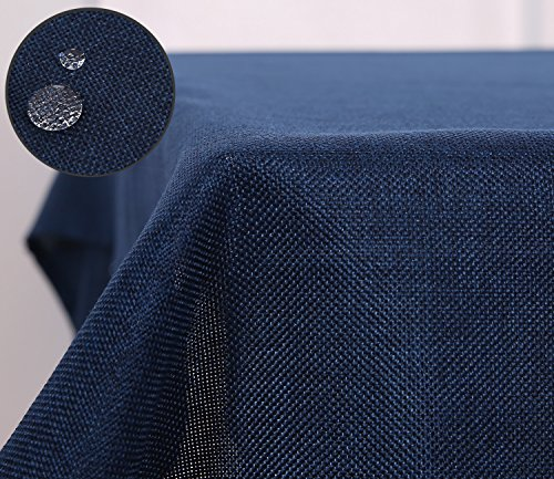 deconovo-rectangle-fabric-faux-linen-table-cloth-for-casual-dinning-waterproof-dark-blue-large-size-