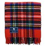 Royal Stewart Tartan Premium Wool Tra...