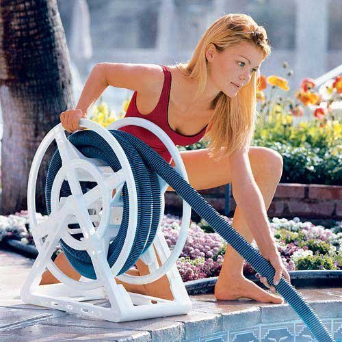 Awardpedia Swimming Pool Vacuum Hose Storage Reel