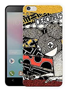 "Humor Gang Deadmau5 Vintage Printed Designer Mobile Back Cover For ""Huawei Honor 4X"" (3D, Matte, Premium Quality Snap On Case)"