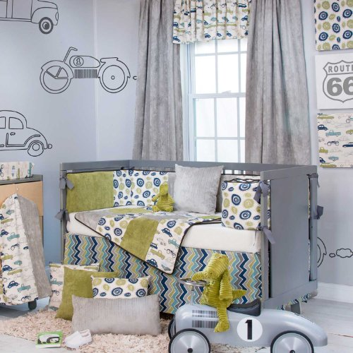 Boys Bedding Cars front-140294