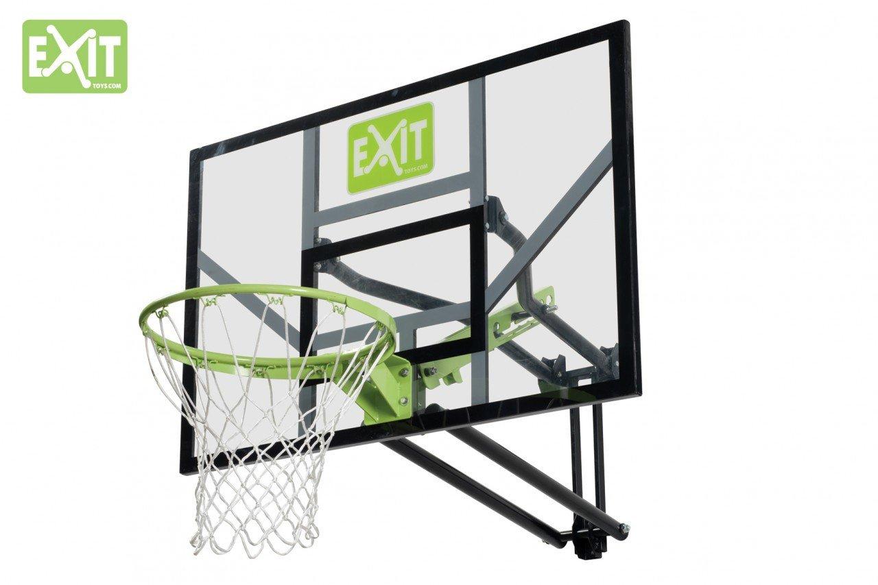 Exit Galaxy 5 stufig höhenverstellbarer Basketballkorb zur Wandmontage mit flexiblem Dunkring günstig online kaufen