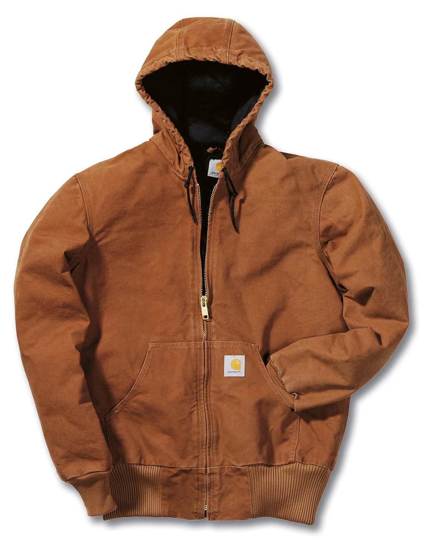 Carhartt EJ130 Sandstone Active Jacket Jacke Kapuzenjacke braun