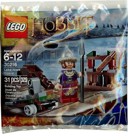 LEGO The HOBBIT The Desolation Of Smaug Lake-Town Guard Set 31 Pieces # 30216 - 1