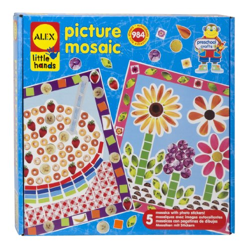 ALEX Toys Little Hands Picture Mosaic - 1