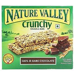 Nature Valley Crunchy Granola Bars, Oat and Dark Chocolate, 253g