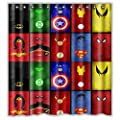All Avengers Shower Curtain