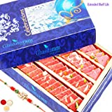 Rakhi Gifts Sweets-Ghasitarams Strawberry Katli 800 Gms-r2