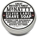 Mr Natty Silver Label Shave Soap 80ml