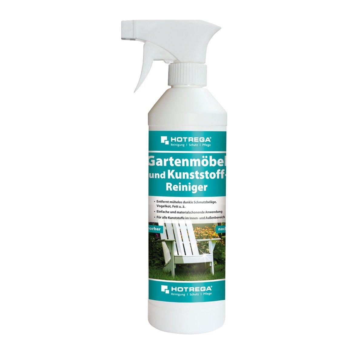 Hotrega H130960 Gartenmöbel und Kunststoff-Reiniger, Profi-Reiniger zur materialschonenden Entfernung hartnäckiger Schmutzablagerungen