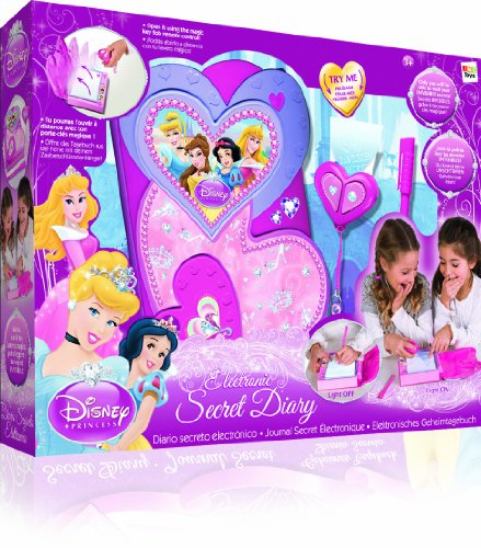 IMC Toys - 210400 - Jeu Electronique - Agenda Secret Électronique - Disney Princesse