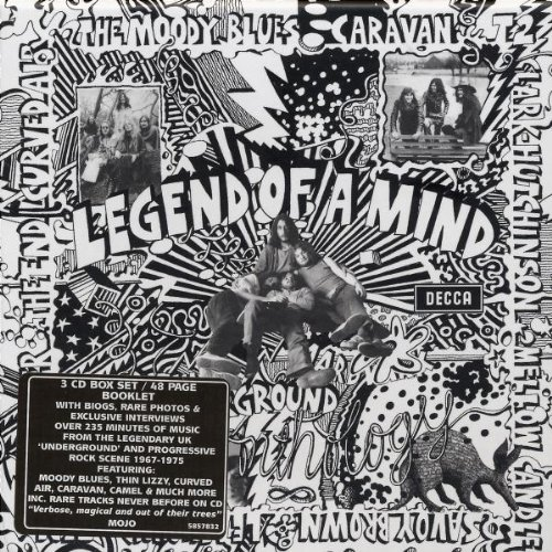 VA – Legend Of A Mind: The Underground Anthology (3CD Box Set) (2003) [FLAC]