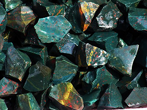 Fundamental Rockhound Products: Rough BLOODSTONE Natural Bulk Rock for Tumbling Metaphysical Gemstones Healing Crystals * Wholesale Lot * ... from India (11 lb) (Liver Purifier 5 compare prices)