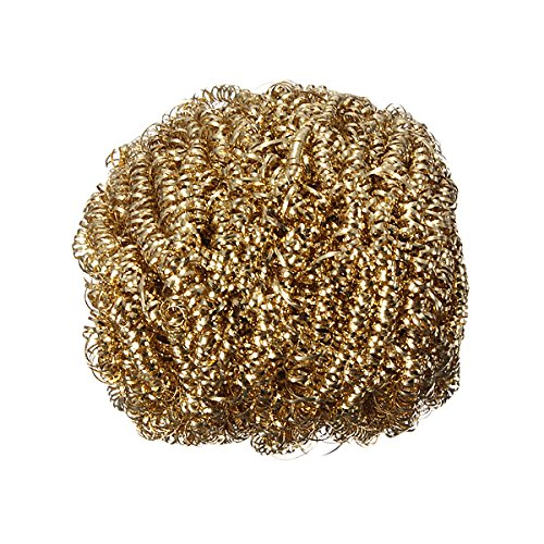 Soldering Solder Iron Tip Cleaner Steel Cleaning Wire Sponge Ball (Solder Scrubber compare prices)