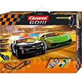 Carrera GO!!! - Circuito Speed Control, con Chevrolet Camaro Sheriff y Lamborghini Huracán (20062370)