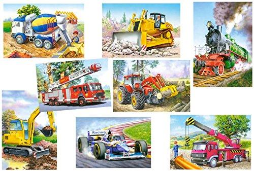 1-Stck-Mini-Puzzle-24-Teile-Eisenbahn-Autos-Fahrzeuge-Castorland-Auto-Baustelle-Kinder-Kinderpuzzle-Minipuzzle-Minipuzzles-Mitgebsel-Preis-fr-Kindergeburtstag-Jungen