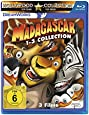 Madagascar / Madagascar 2 / Madagascar 3: Flucht durch Europa [Blu-ray]