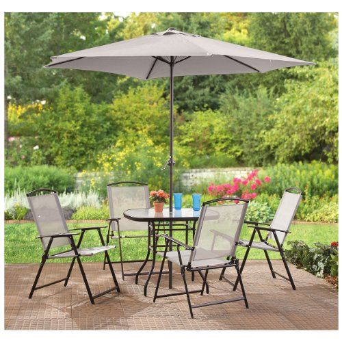 CASTLECREEK 6 Piece Outdoor Patio Dining Set Amazon Price: $159.99 Buy Now  (price As Of Jun 1, 2016)