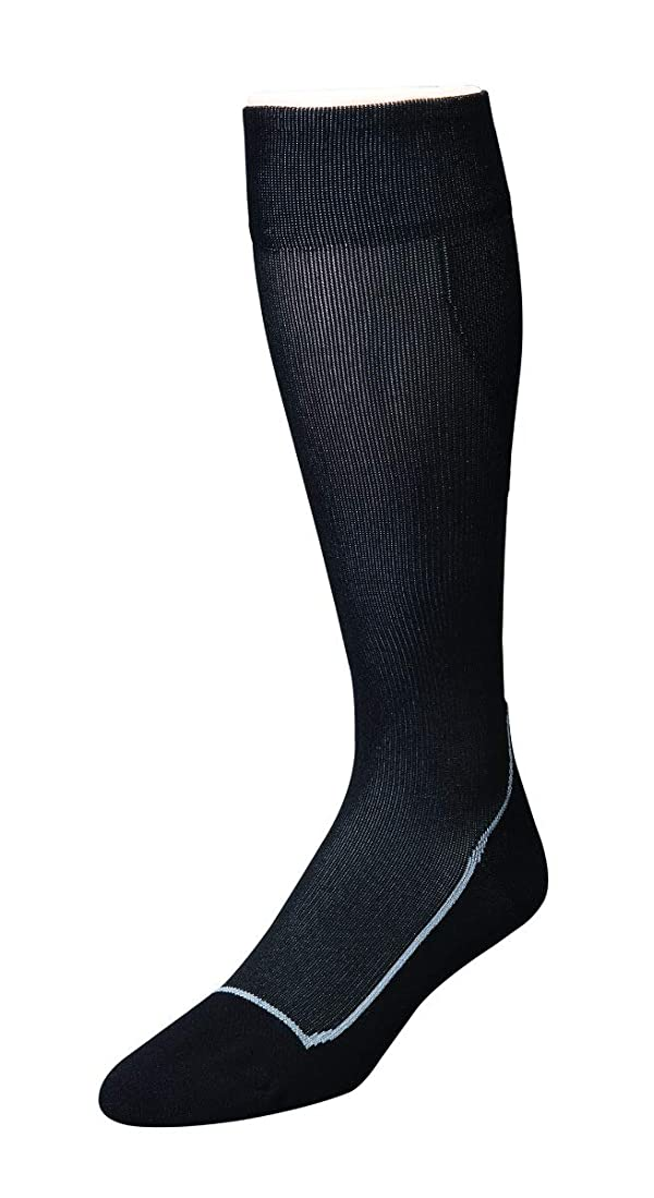 JOBST Sport Knee High 20-30 mmHg Compression Socks, Black/Cool Black, Small (Color: Black, Tamaño: Small)