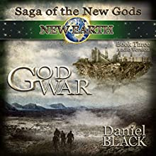 God War: Saga of the New Gods Book 3 (       UNABRIDGED) by Daniel Black Narrated by Sebastian Fields, Marci Fine