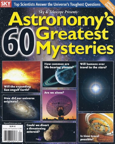 Astronomy'S 60 Greatest Mysteries (Sky & Telescope Presents)