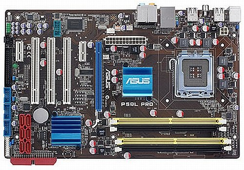 ASUS P5QL PRO Motherboard Socket 775 Intel P43/ICH10 3PCI 1PCIE X16,4D.DDR2-1066