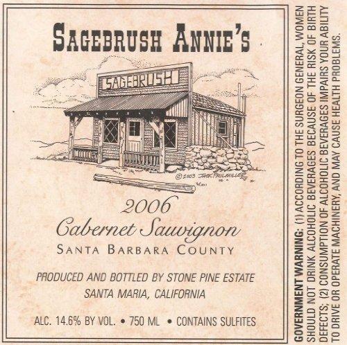2006 Sagebrush Annie'S Santa Barbara County Cabernet Sauvignon 750 Ml