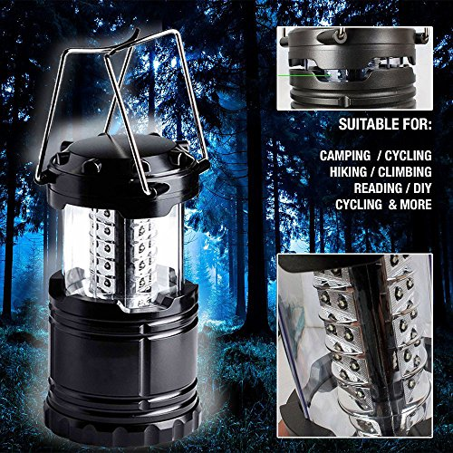 pack-of-2-Outdoor-LED-Camping-Lantern-Flashlights-Set-Kenor-Portable-LED-Camping-Light-Emergency-Light-30-LEDs-Battery-Powered-Home-Garden-Camping-Lanterns-for-Hiking-RVEmergencies-Hurricanes