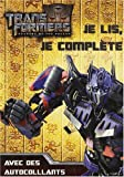 echange, troc Hemma - Transformers : Je lis, je complète