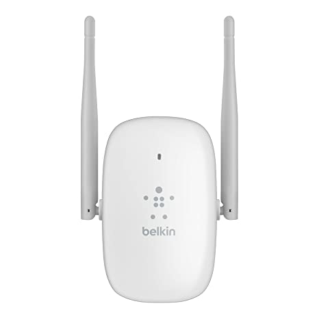 Belkin F9K1121as Routeur Wi-Fi N600 ultra compact double bande 2,4 GHz/5 GHz (2 x 300 Mbps) Blanc