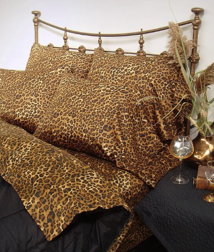 Leopard Sheets King front-1022836