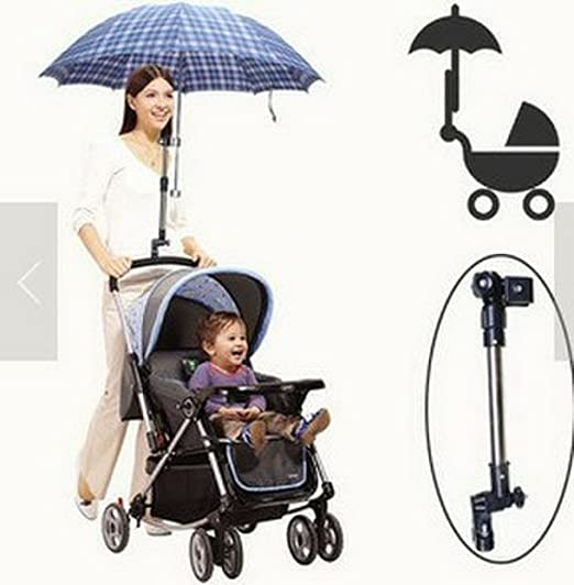 Wheelchair Bicycle Stroller Chair Umbrella Bar Holder
